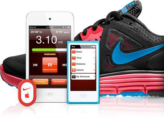Nike + les accessoires nécessaires