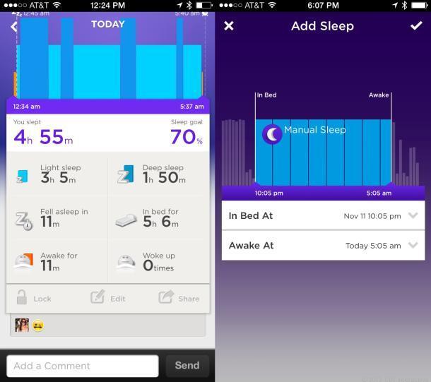 L'analyse de votre sommeil avec le Jawbone UP 24