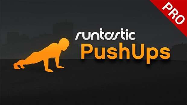 Bannière Application Runtastic PushUps Pro